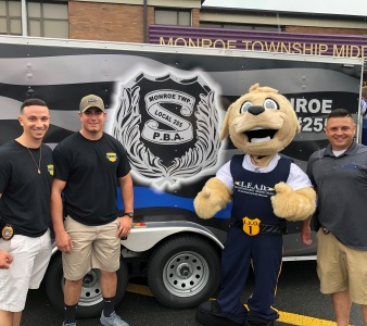 2019 LEAD Field Day Sgt. Breuer, Ofc. Gentile and Ofc. DeGraw