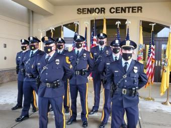 Monroe Township Police Department Honor Guard